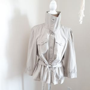 Dalia Collection, Beige Spring Jacket Sz 18W
